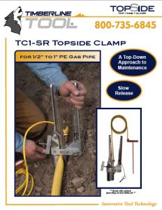 tc1sr, tc1-sr, tc1-sr literature, timberline tc1sr, squeeze tool, squeeze off, pipe squeeze, timberline squeeze tools, gas pipe