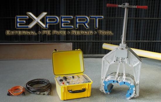 expert repair, gas line repair, keyhole technology, keyhole, timberline tool, expert line